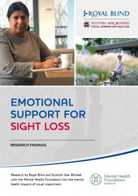 Royal Blind Emotional Support and Sight Loss report