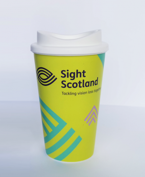 Support Sight Scotland by purchasing a Thermos Cup from our merchandise store