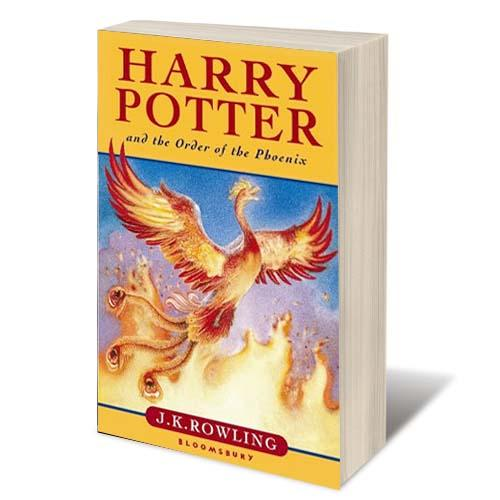 Harry Potter and the Order of the Phoenix - J K Rowling